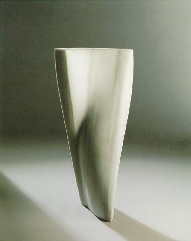 """""""Die tanzende Form"""", türkischer Marmor, 1989, 80 x 40 cm"""