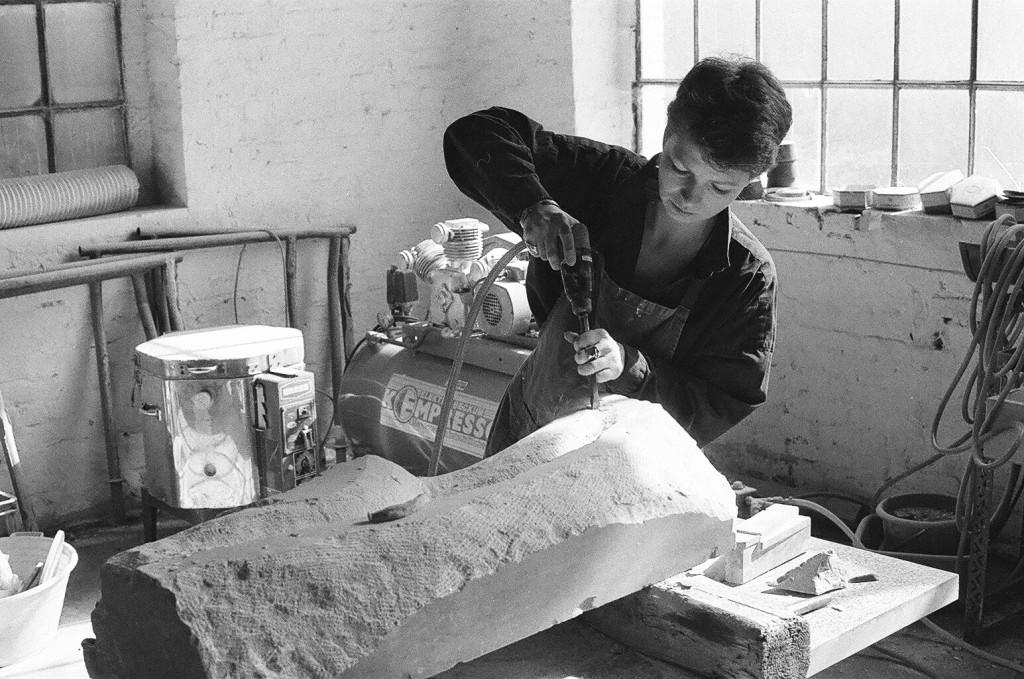 Bildhauerin Daniela Braun